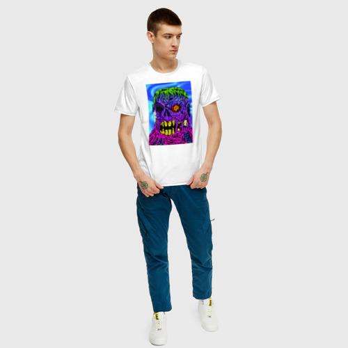 Мужская футболка хлопок Одноглазый Монстр Фото 01