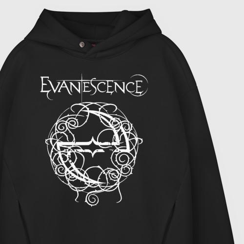 Мужское худи Oversize хлопок Evanescence Фото 01