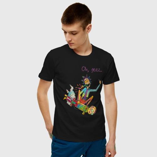 Мужская футболка хлопок Mortyboard Фото 01