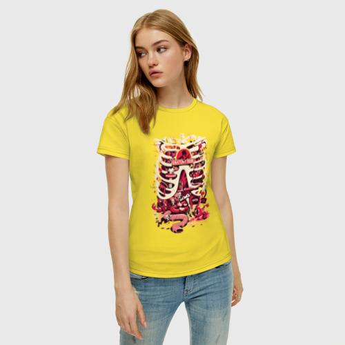Женская футболка хлопок Anatomy park Фото 01