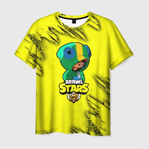 детская футболка 3d Brawl Stars Leon купить в интернет