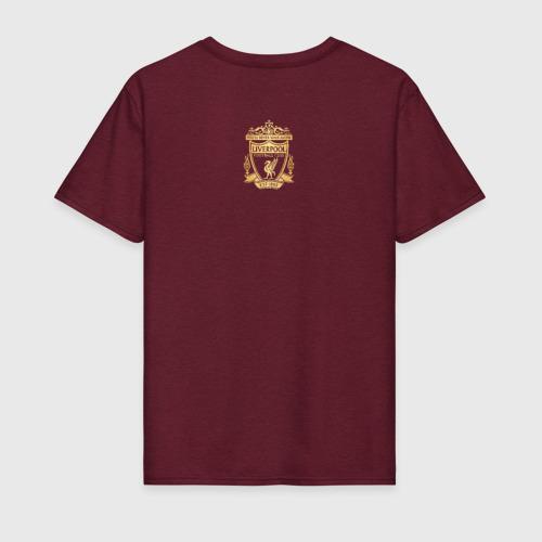 Мужская футболка хлопок Ливерпуль Фото 01