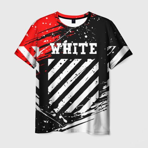 Мужская футболка 3D OFF-WHITE  Фото 01