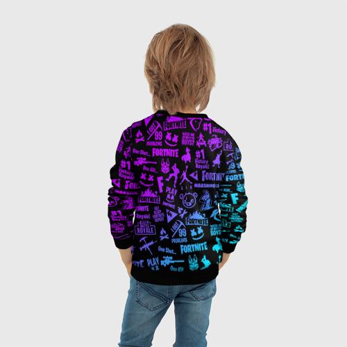 Детский свитшот 3D FORTNITE x MARSHMELLO Фото 01