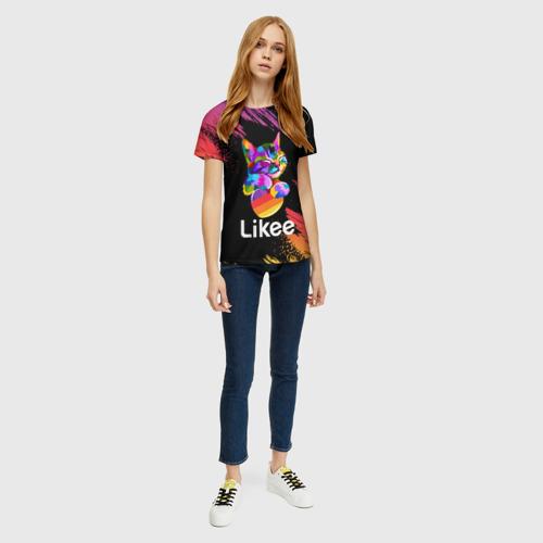 Женская футболка 3D Likee (LIKE Video) Фото 01