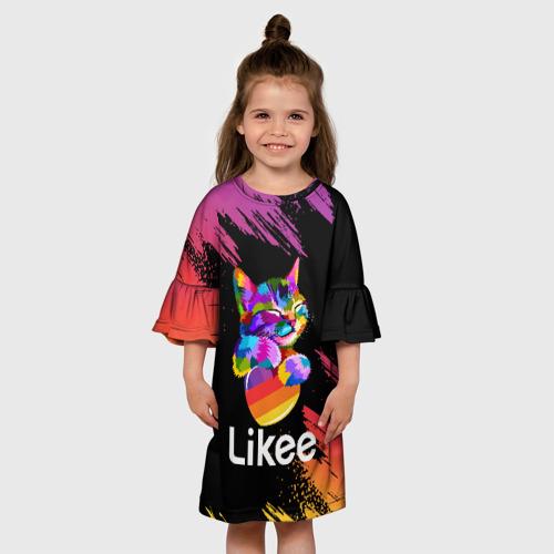Детское платье 3D Likee (LIKE Video) Фото 01