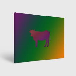 Корова(трехцветный градиент)