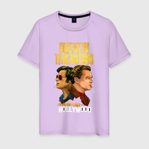 Мужская футболка хлопок Однажды в Голливуде Фото 01