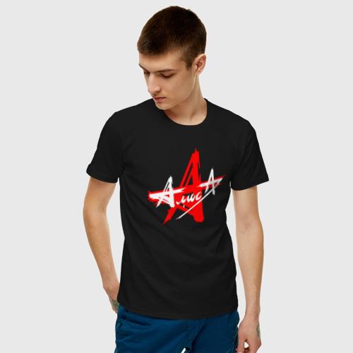 Мужская футболка хлопок АлисА Фото 01