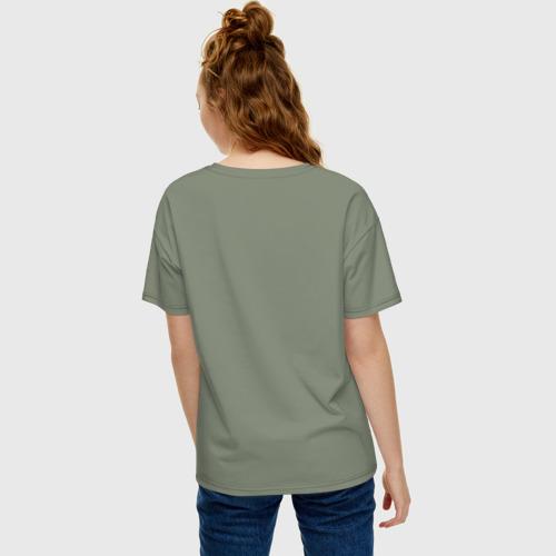 Женская футболка хлопок Oversize Гусь кря! Фото 01