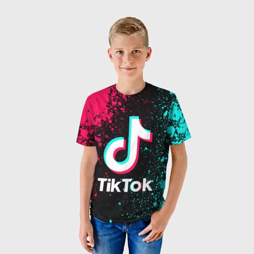 Детская футболка 3D TIK TOK Фото 01