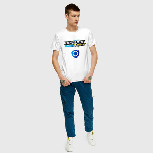 Мужская футболка хлопок Beyblade Burst. Фото 01