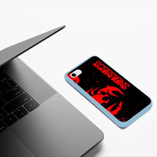 Чехол для iPhone 6/6S матовый SCORPIONS Фото 01
