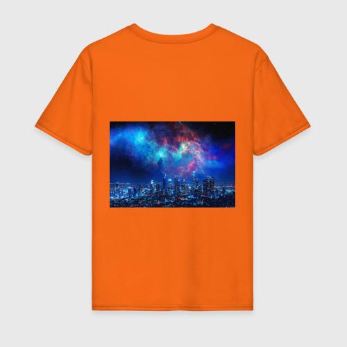 Мужская футболка хлопок НОЧЬ В ГОРОДЕ Фото 01