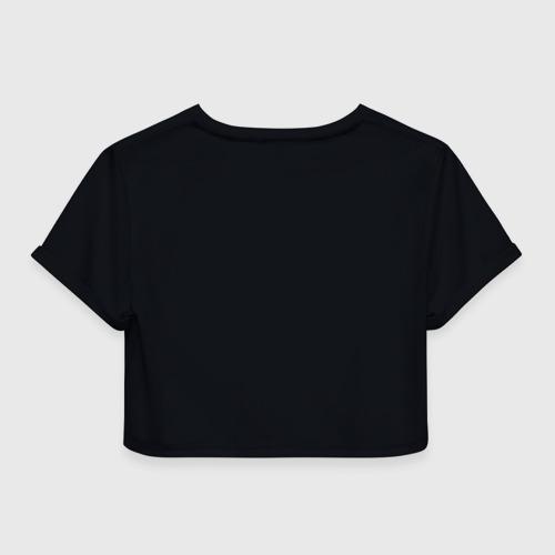 Женская футболка Cropp-top Billie Eilish с Сережкой Фото 01