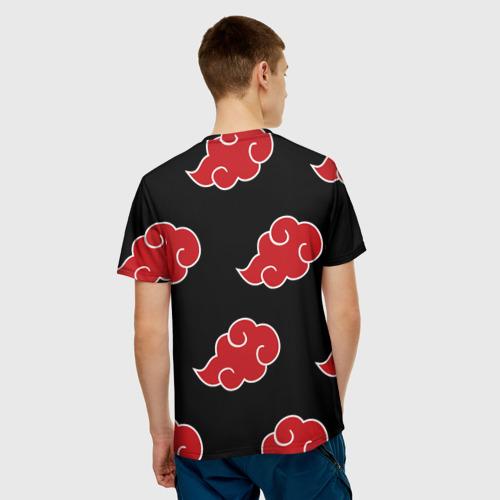 Мужская футболка 3D AKATSUKI | АКАЦУКИ | НАРУТО Фото 01