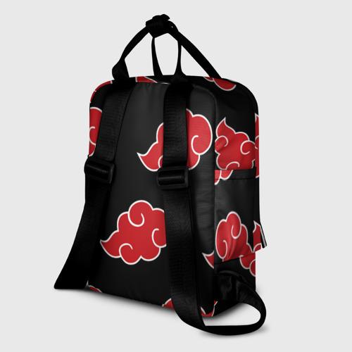 Женский рюкзак 3D AKATSUKI   АКАЦУКИ   НАРУТО Фото 01