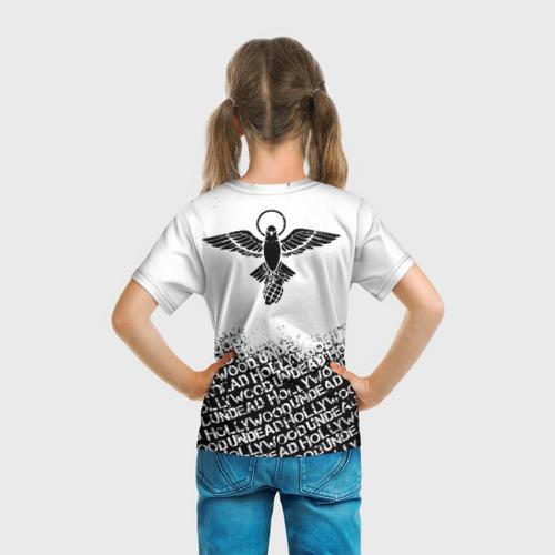 Детская футболка 3D HOLLYWOOD UNDEAD за  990 рублей в интернет магазине Принт виды с разных сторон