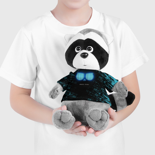 Енотик в футболке 3D Brawl Stars  Фото 01