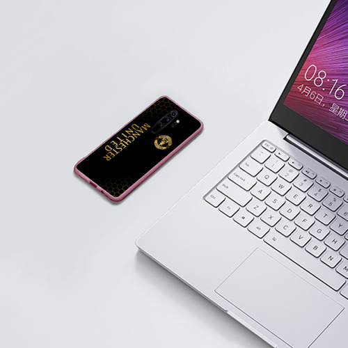 Чехол для Xiaomi Redmi Note 8 Pro МАНЧЕСТЕР ЮНАЙТЕД GOLD Фото 01
