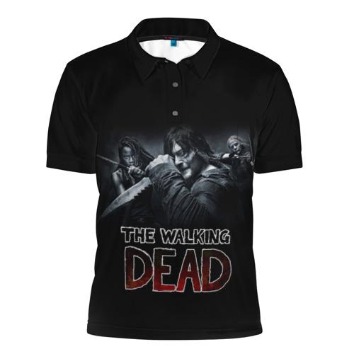 Мужская рубашка поло 3D TWD Фото 01