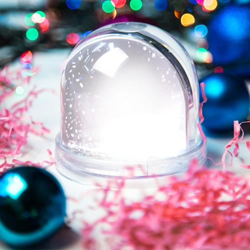Снежный шар Без дизайна Фото 01