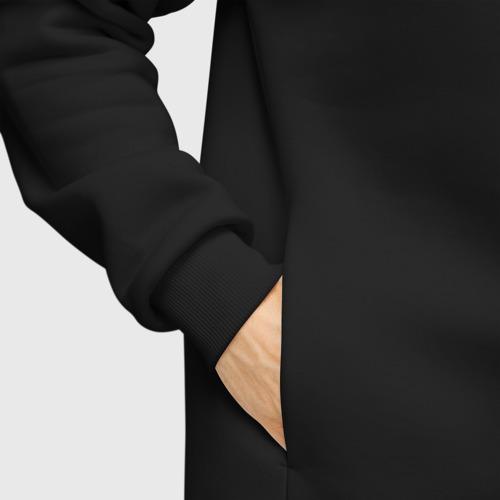 Мужское худи Oversize хлопок Без дизайна Фото 01