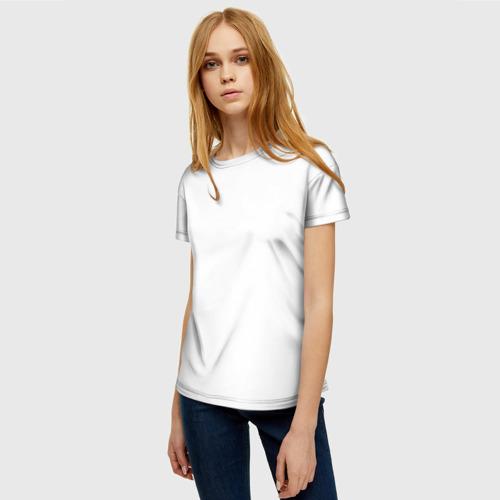 Женская футболка 3D Без дизайна Фото 01