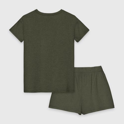 Женская пижама с шортиками хлопок Без дизайна Фото 01