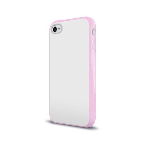 Чехол для Apple iPhone 4/4S силиконовый глянцевый Без дизайна Фото 01