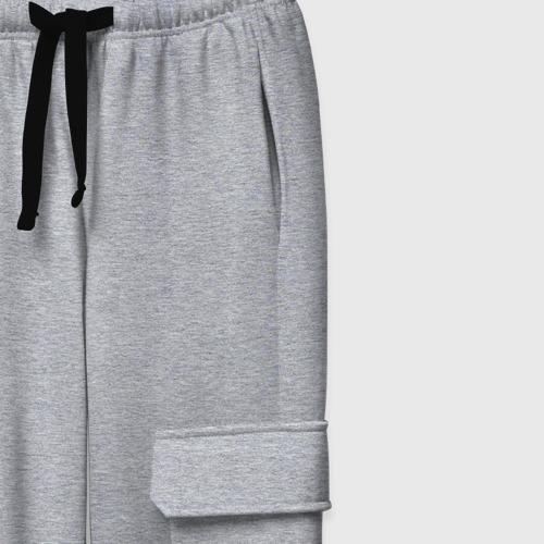 Женские брюки хлопок Без дизайна Фото 01