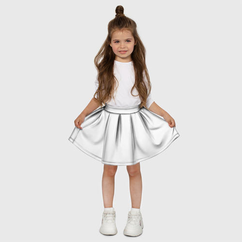 Детская юбка-солнце 3D Без дизайна Фото 01