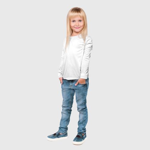 Детский лонгслив 3D Без дизайна Фото 01