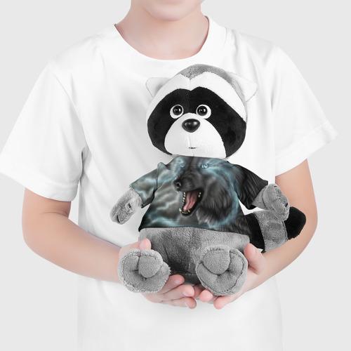 Енотик в футболке 3D HALLOWEEN Фото 01