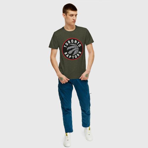 Мужская футболка хлопок Toronto Raptors Logo Фото 01