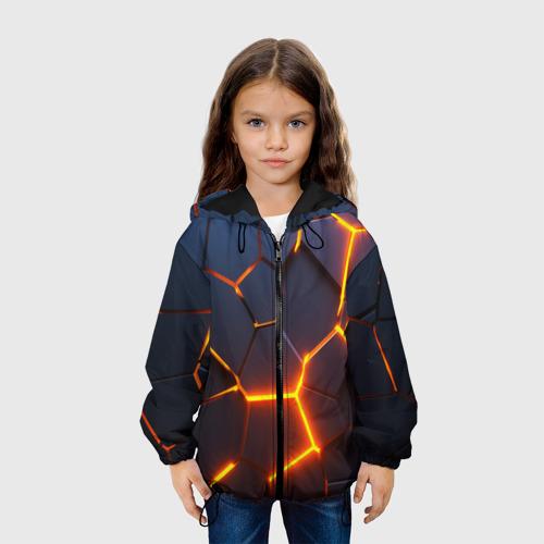 Детская куртка 3D 3D ПЛИТЫ | NEON STEEL | НЕОНОВЫЕ ПЛИТЫ | РАЗЛОМ Фото 01