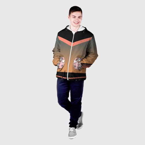 Мужская куртка 3D Морти (Рико мысли) Фото 01