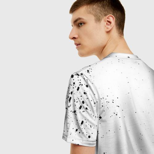 Мужская футболка 3D HALLOWEEN PARTY