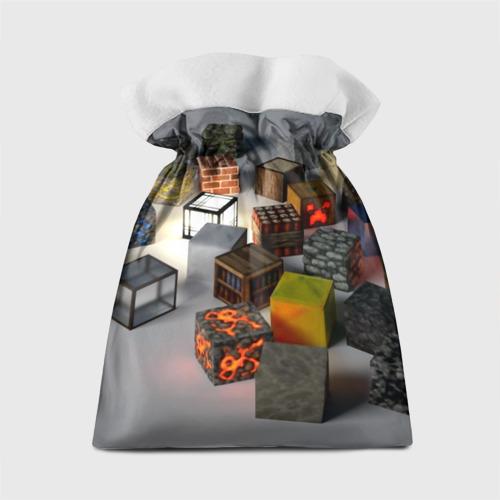 Подарочный 3D мешок MINECRAFT BLOX Фото 01