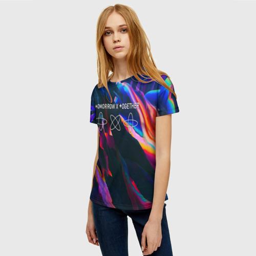 Женская футболка 3D TOMORROW X TOGETHER Фото 01