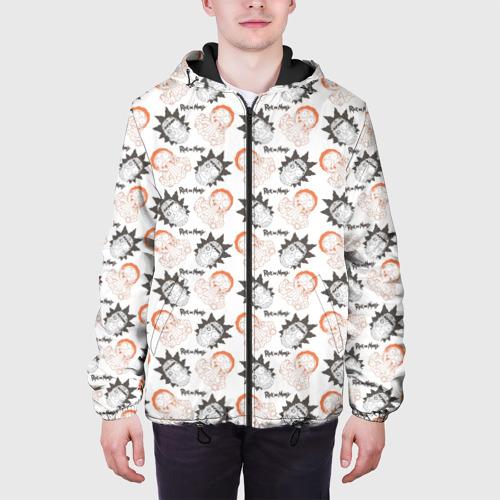 Мужская куртка 3D Рик и Морти Фото 01