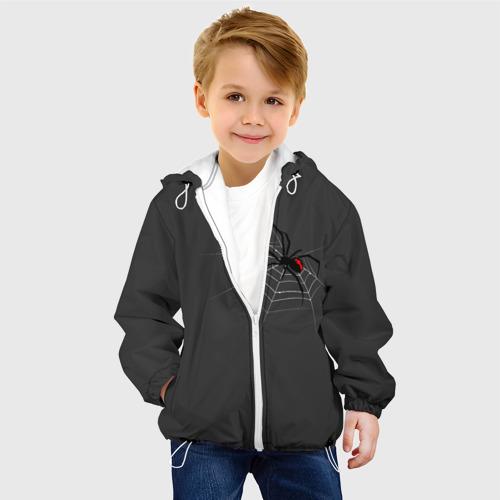 Детская куртка 3D Паук Фото 01
