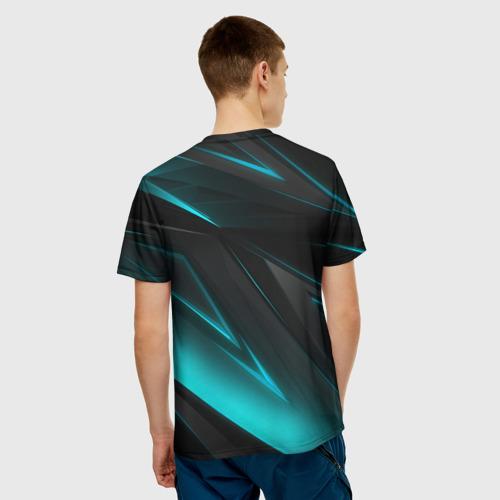 Мужская футболка 3D GEOMETRY STRIPES NEON   НЕОНОВАЯ ГЕОМЕТРИЯ Фото 01