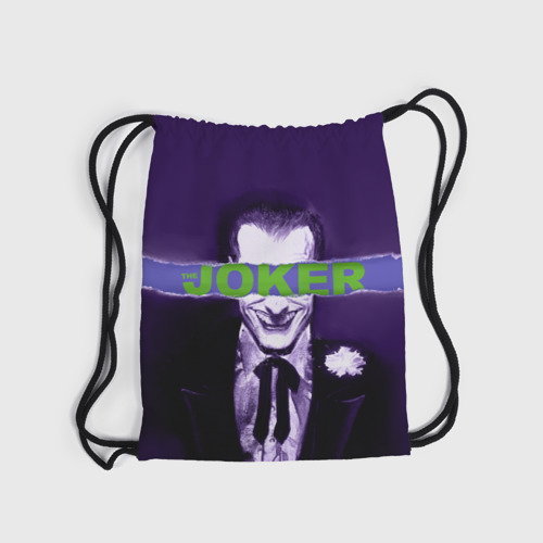 Рюкзак-мешок 3D Джокер Фото 01