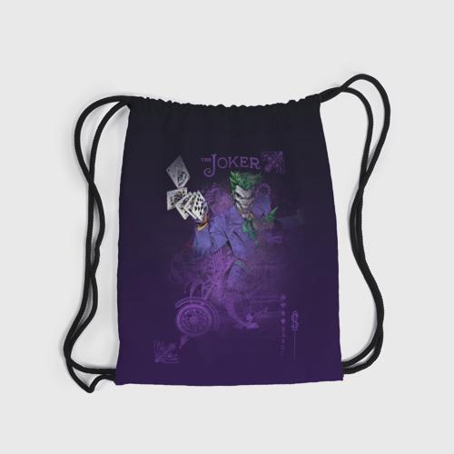 Рюкзак-мешок 3D  Joker and playing cards Фото 01