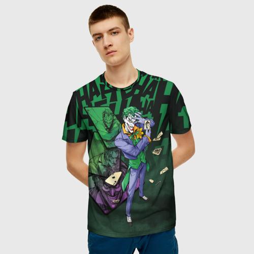 Мужская футболка 3D  Joker games Фото 01