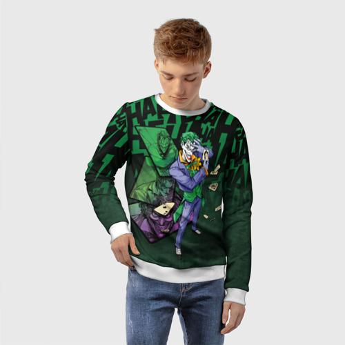 Детский свитшот 3D  Joker games Фото 01