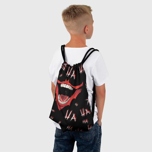 Рюкзак-мешок 3D Laughter Фото 01
