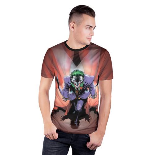 Мужская футболка 3D спортивная The Joker Show Фото 01