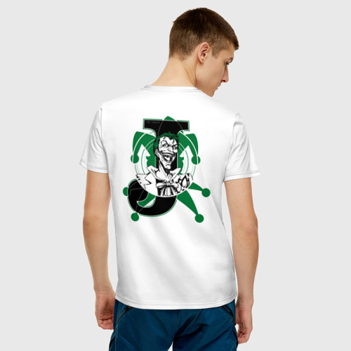 Мужская футболка хлопок J - Joker Фото 01